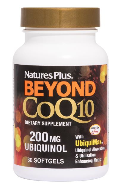 beyond coq10 ubiquinol 200 mg 60 softgels   nature s plus1 1 - Bioperine 10 (90 Vegetarian Capsules) - Nature's Plus