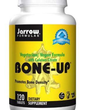 bone up vegetarian vegan formula with calcium citrate jarrow formulas 300x375 - Bone-Up Vegetarian/Vegan Formula With Calcium Citrate (120 tablets) - Jarrow Formulas