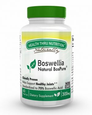 boswellia bospure 300mg 60 vegecapsules 2 300x375 - Boswellia BosPure 300 mg (non-GMO) (60 Vegicaps) - Health Thru Nutrition