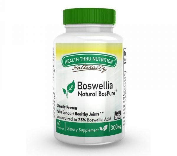 boswellia bospure 300mg 60 vegecapsules 2 600x528 - Boswellia BosPure 300 mg (non-GMO) (60 Vegicaps) - Health Thru Nutrition