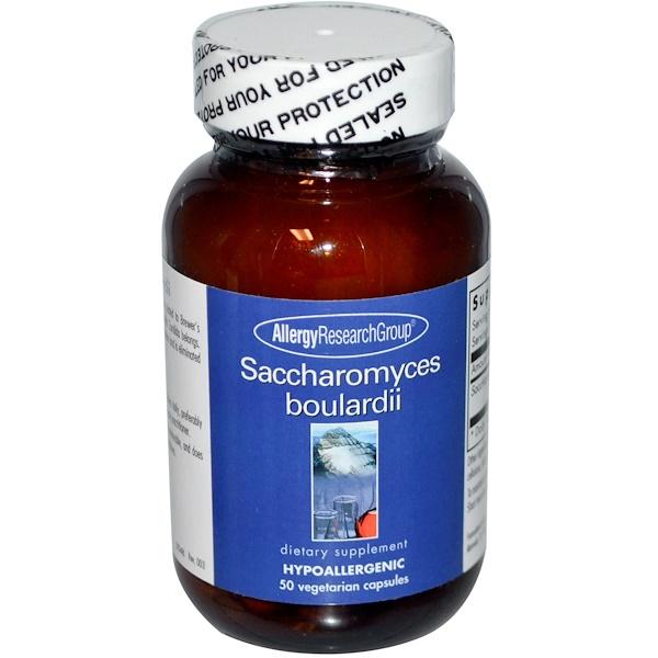 boulardii allergy - Saccharomyces Boulardii 50 Veggie Caps - Allergy Research Group