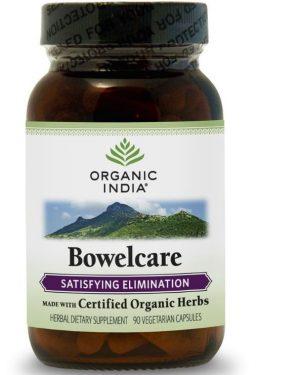 bowelcare 90 veggie caps organic india 300x375 - Bowelcare (90 Veggie Caps) - Organic India