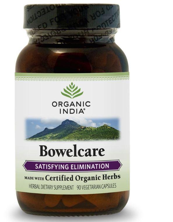 bowelcare 90 veggie caps organic india - Bowelcare (90 Veggie Caps) - Organic India