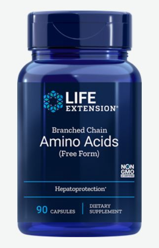 branched chain amino acids   90 capsules   life extension - Branched Chain Amino Acids - 90 capsules - Life Extension