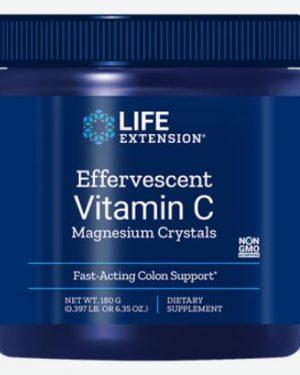 bruisende vitamine c   magnesium kristallen 180g   life extension 300x375 - Bruisende vitamine c - magnesium kristallen 180g - Life Extension