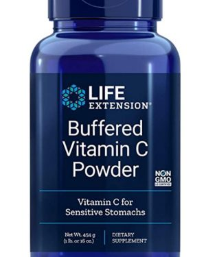 buffered vitamin c le1 300x375 - Vitamine C Poeder Buffered - 454 grams (16 oz) - Life Extension
