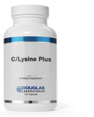 c lysine plus douglas laboratories 300x375 - C/Lysine Plus (120 tabletten) - Douglas Laboratories