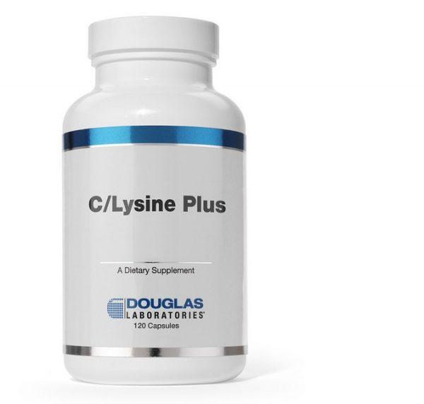 c lysine plus douglas laboratories 600x572 - C/Lysine Plus (120 tabletten) - Douglas Laboratories