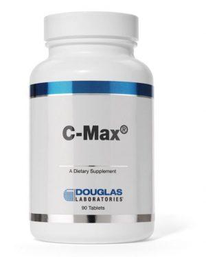 c max time released vitamin c douglas laboratories label 300x375 - C-Max - Time-Released vitamine C - Douglas laboratories