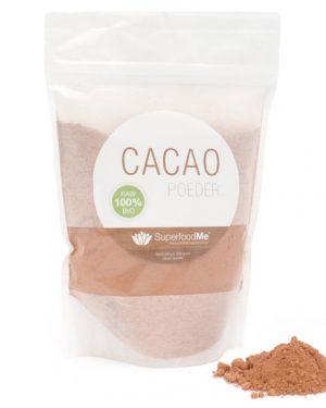 cacaopoeder zak 300x375 - Biologisch Cacaopoeder (300 gram) - Superfoodme