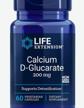 calcium d glucarate 200 mg 60 veggie capsules   life extension 293x375 - Calcium D-Glucarate 200 mg (60 Veggie Capsules) - Life Extension
