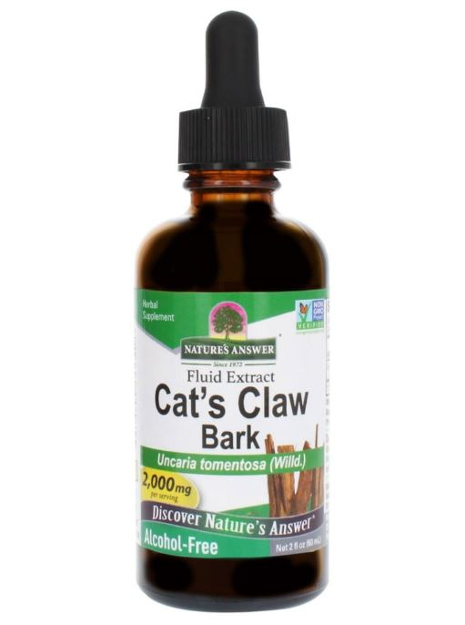 capture 4 - Cat's Claw Inner Bark, Alcohol-Free, 2000 mg (60 ml) - Nature's Answer