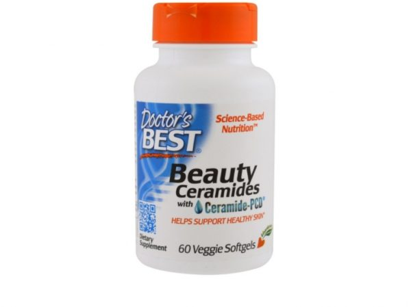 ceramides drb 1 600x449 - Beauty Ceramides with Ceramide-PCD (60 Veggie Caps) - Doctor's Best