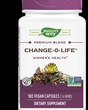 change o life 7 kruiden mix voor vrouwen 440 mg 180 capsules   nature s way1 300x375 - Change-O-Life 7 kruiden mix voor vrouwen 440 mg (180 Capsules) - Nature's Way