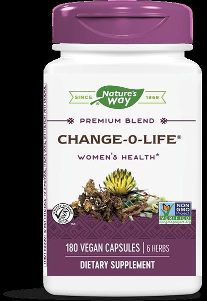 change o life 7 kruiden mix voor vrouwen 440 mg 180 capsules   nature s way1 - Change-O-Life 7 kruiden mix voor vrouwen 440 mg (180 Capsules) - Nature's Way