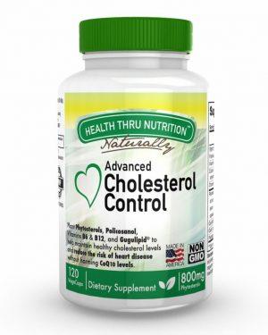 cholesterol control advanced natural formula 120 vegetarian capsules 2 300x375 - Plant Phytosterols Concentrate (non-GMO) (120 Vegicaps) - Health Thru Nutrition