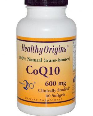 coq10 600mg healthy origins 1 300x375 - CoQ10, Kaneka Q10, 600 mg (60 Softgels) - Healthy Origins