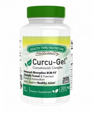 curcu gel 325 mg bcm 95 enhanced absorption curcumin 60 softgels soy free non gmo 15 300x375 - Curcu-Gel 325 mg BCM-95 Curcumin (non-GMO) (60 Softgels) - Health Thru Nutrition