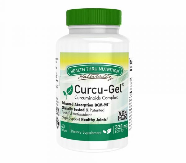 curcu gel 325 mg bcm 95 enhanced absorption curcumin 60 softgels soy free non gmo 15 600x528 - Curcu-Gel 325 mg BCM-95 Curcumin (non-GMO) (60 Softgels) - Health Thru Nutrition