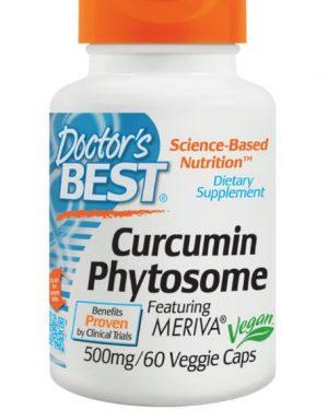 curcumin phytosome doctors best 1 300x375 - Curcumin Phytosome with Meriva 500 mg (60 Veggie Caps) - Doctor's Best