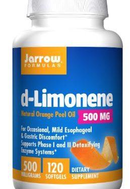d limonene 1000 mg 60 softgels   jarrow formulas 258x375 - d-Limonene 1000 mg (60 softgels) - Jarrow Formulas