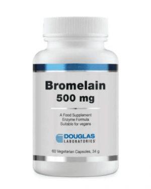 douglas bromelain500 1 300x375 - Bromelaïne (60 Capsules) - Douglas Laboratories