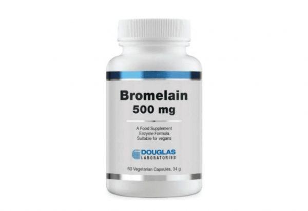 douglas bromelain500 1 600x412 - Bromelaïne (60 Capsules) - Douglas Laboratories