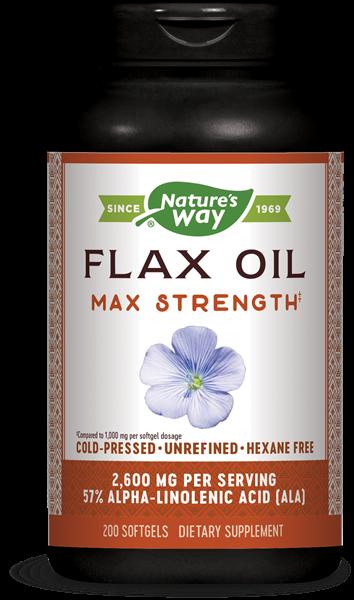 efa gold hoge potentie vlas olie 1300 mg 200 gelcapsules   nature s way1 - EFA Gold hoge potentie vlas olie 1300 mg (200 gelcapsules) - Nature's Way