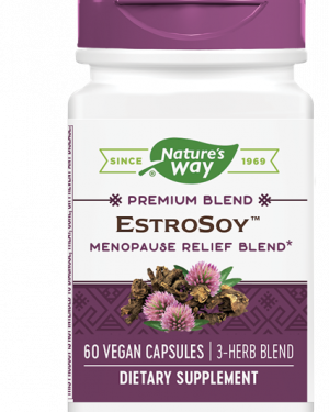 estrosoy plus menopause relief blend 60 capsules   nature s way1 300x375 - EstroSoy Plus Menopause Relief Blend (60 Capsules) - Nature's Way