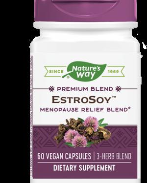 estrosoy plus menopause relief blend 60 capsules   nature s way1 300x375 - EstroSoy Plus Menopause Relief Blend (60 Capsules) - Nature's Way