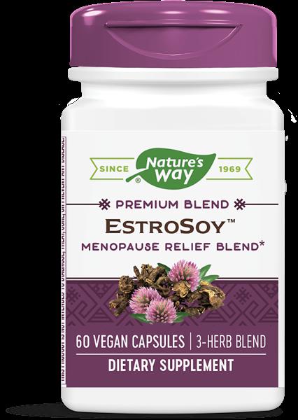 estrosoy plus menopause relief blend 60 capsules   nature s way1 - EstroSoy Plus Menopause Relief Blend (60 Capsules) - Nature's Way