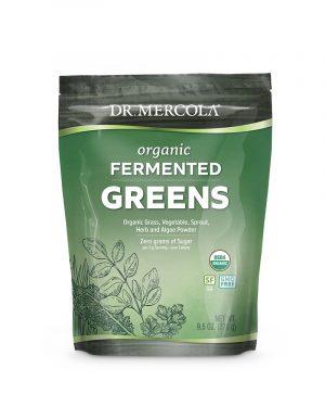 fermented greens 300x375 - Organic Fermented Greens 270 g - Dr. Mercola