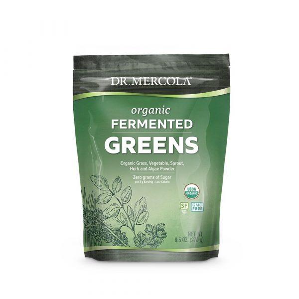 fermented greens 600x600 - Organic Fermented Greens 270 g - Dr. Mercola