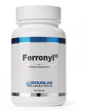 ferronyl with vitamine c 60 tablets douglas laboratories 300x375 - Ferronyl met vitamine C (60 tabletten) - Douglas Laboratories