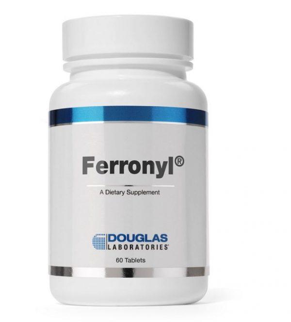 ferronyl with vitamine c 60 tablets douglas laboratories 600x664 - Ferronyl met vitamine C (60 tabletten) - Douglas Laboratories