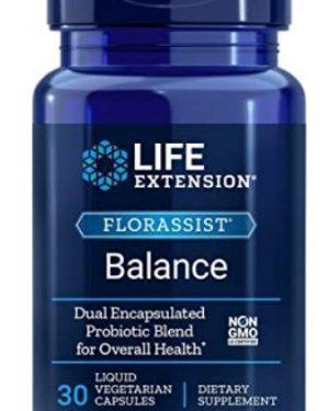 florassist balance1 300x375 - FlorAssist Balance (30 Liquid Veggie Caps ) - Life Extension
