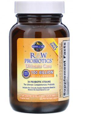 gol probiotics 30 3 300x375 - RAW Probiotics - Ultimate Care (30 Vegetarian Capsules) - Garden of Life