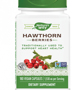 haagdoorn bessen 510 mg 180 vegetarische capsules   nature s way1 300x375 - Haagdoorn bessen 510 mg (180 vegetarische capsules) - Nature's Way