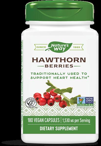 haagdoorn bessen 510 mg 180 vegetarische capsules   nature s way1 - Haagdoorn bessen 510 mg (180 vegetarische capsules) - Nature's Way