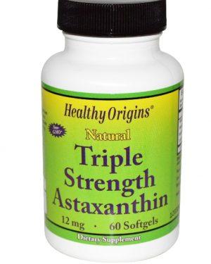 healthy origins astaxanthin 1 300x375 - Astaxanthine Hoge Dosering Astaxanthine 12mg (60 Softgels) - Healthy Origins