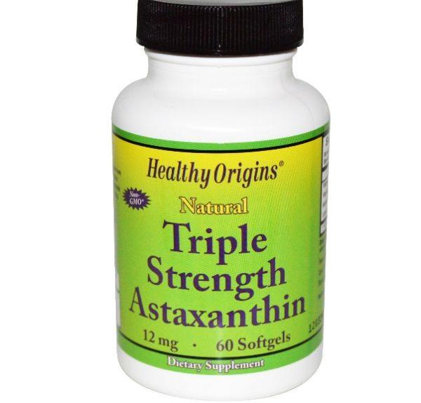 healthy origins astaxanthin 1 600x574 - Astaxanthine Hoge Dosering Astaxanthine 12mg (60 Softgels) - Healthy Origins