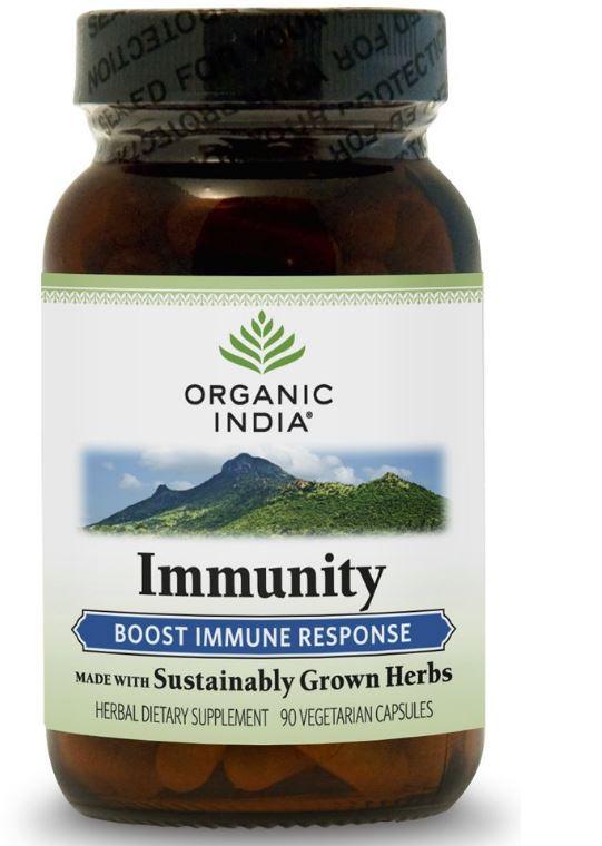 immunity formula 90 veggie caps organic india - Immuniteit formule (90 Veggie Caps) - Organic India