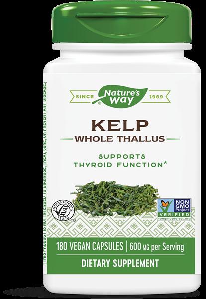 kelp 600 mg 180 capsules   nature s way1 - Kelp 600 mg (180 Capsules) - Nature's Way