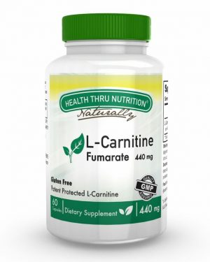 l carnitine fumarate 60 capsules 13 300x375 - L-Carnitine 440 mg (60 Capsules) - Health Thru Nutrition