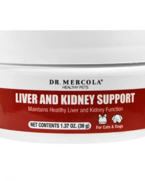 liver kidney support pets mercola 1 300x375 - Liver and Kidney Support for Pets (39 g) - Dr. Mercola