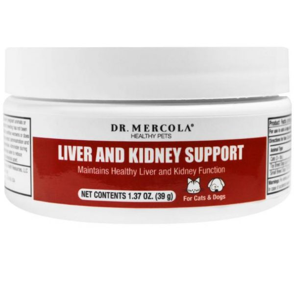 liver kidney support pets mercola 1 600x575 - Liver and Kidney Support for Pets (39 g) - Dr. Mercola