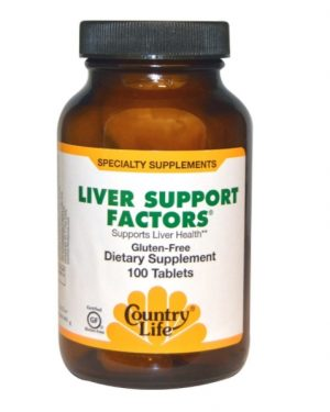 liver support 1 300x375 - Liver Support Factors (100 Vegan Capsules) - Country Life