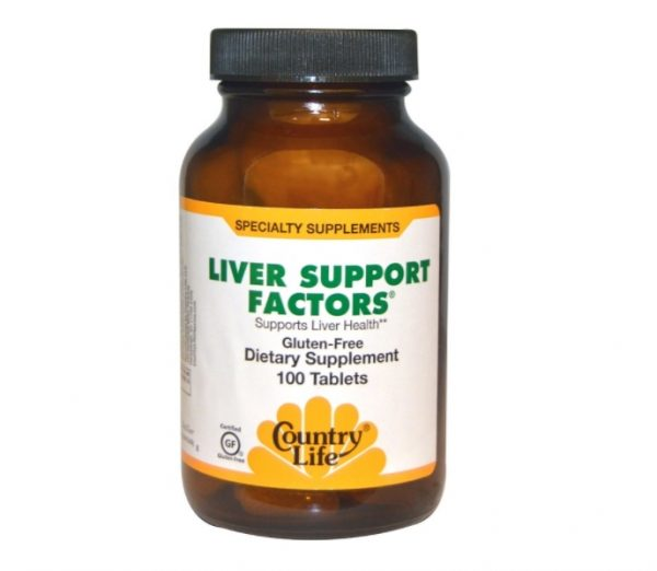 liver support 1 600x522 - Liver Support Factors (100 Vegan Capsules) - Country Life