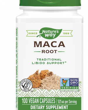 maca root 525 mg 100 capsules   nature s way1 300x375 - Maca Root 525 mg 100 Capsules - Nature's Way
