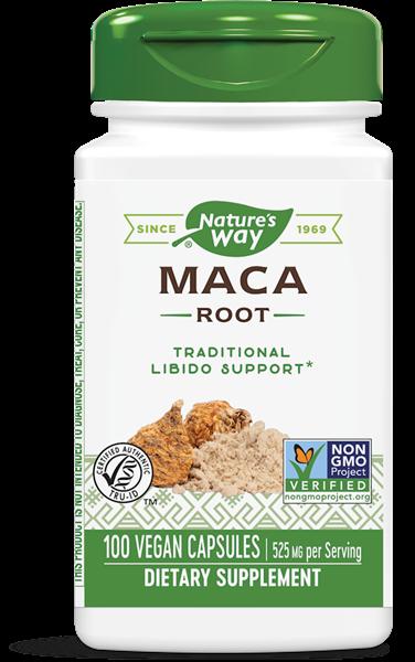 maca root 525 mg 100 capsules   nature s way1 - Maca Root 525 mg 100 Capsules - Nature's Way